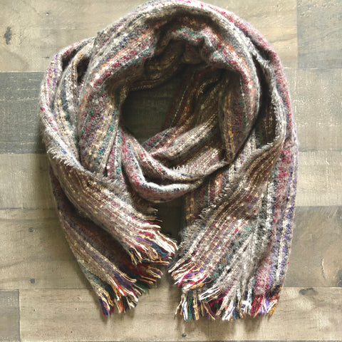 Chunky Multi Color Scarf