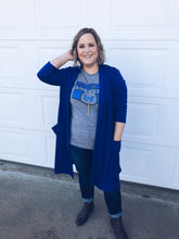Load image into Gallery viewer, Royal Blue Cardi
