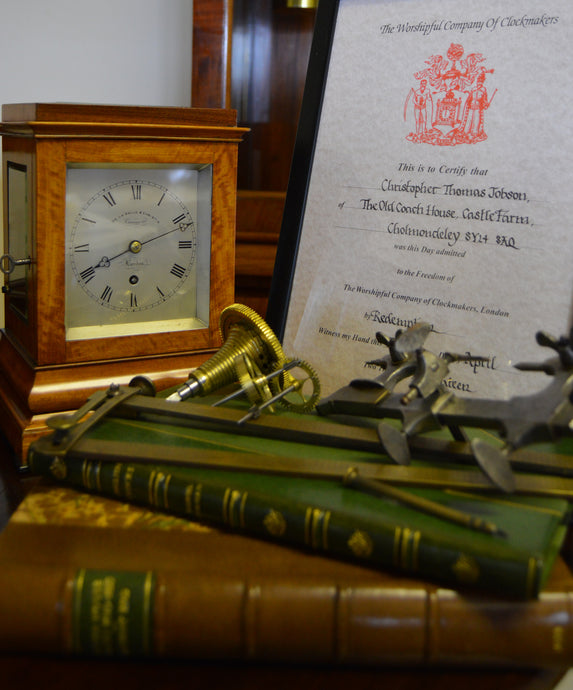 Admission to the freedom of The Worshipful Company of Clockmakers