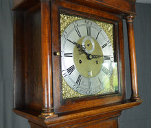 Load image into Gallery viewer, 8 - Day long case clock by Thomas Phippard - Poole.