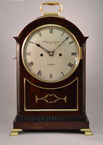 Regency Bracket Clock By Dwerrihouse and Carter of Berkley Square, London.