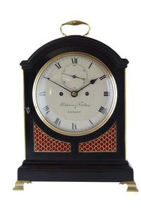 Ebonised repeating bracket clock by Parkinson & Frodsham. - SOLD