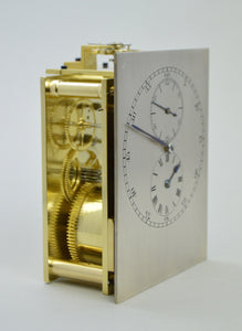 Library Clock with Chronometer Escapement.