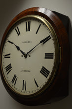 "Load image into Gallery viewer, 16"" Fusee Striking Dial Clock by 'Roskell - Liverpool' circa 1823"