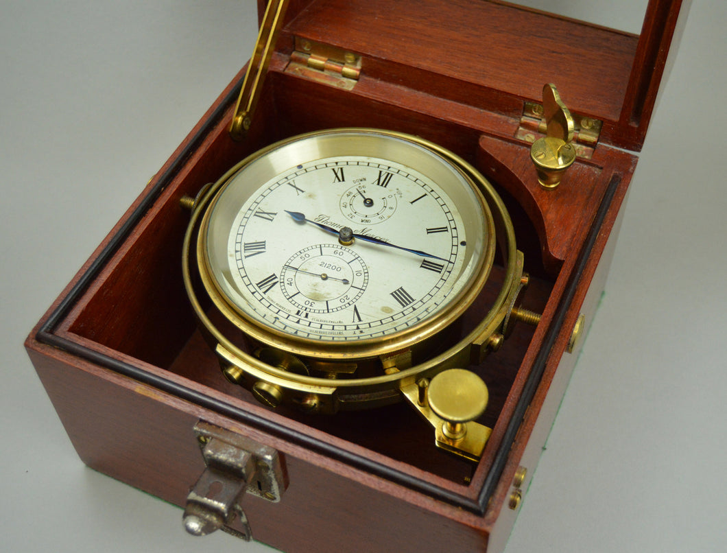Marine Chronometer No. 21200 by Thomas Mercer - St Albans.