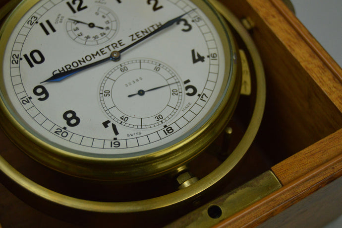 Marine Chronometer Caliber 260 by Zenith.