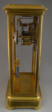 Load image into Gallery viewer, Large French Table Regulator with Jewelled Brocot Escapement and Mercury Pendulum