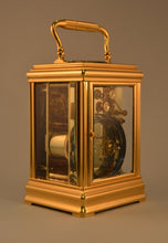 Load image into Gallery viewer, Petite Sonnerie Cannelee Carriage Clock by Drocourt - SOLD