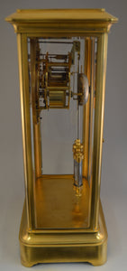 Large French Table Regulator with Jewelled Brocot Escapement and Mercury Pendulum