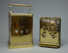 Load image into Gallery viewer, Rare and Interesting Carriage Clock with English Platform.