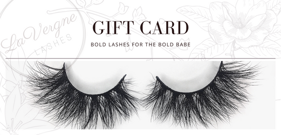 LaVergne Lashes Gift Card