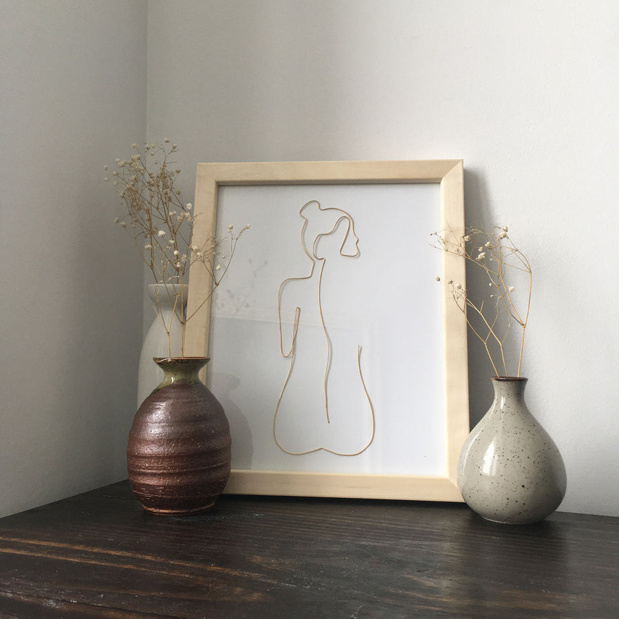 Bare Wire Art - natural frame lifestyle