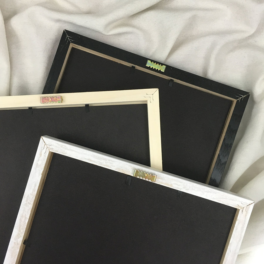 wire art frames backing