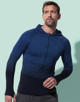 Stedman Herren Sport Jacke Active Seamless Body Fit