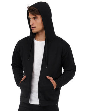 B&C ID.205 50/50 Hooded Full Zip Sweat Herren Jacke
