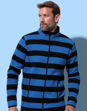 Stedman Herren Jacke Active Striped Fleece