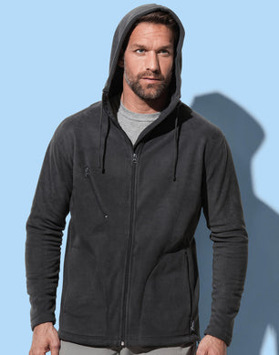 Stedman Herren Jacke Active Hooded Fleece