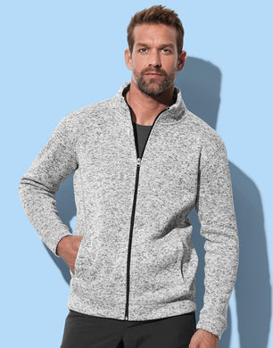 Stedman Herren Jacke Active Knit Fleece