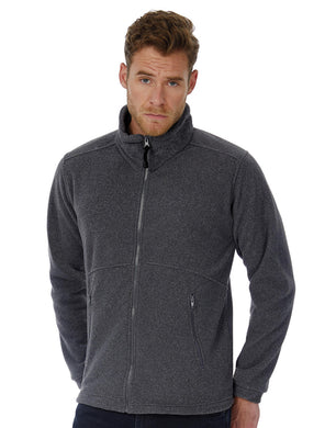 B&C Icewalker+ Outdoor Full Zip Fleece Herren Jacke