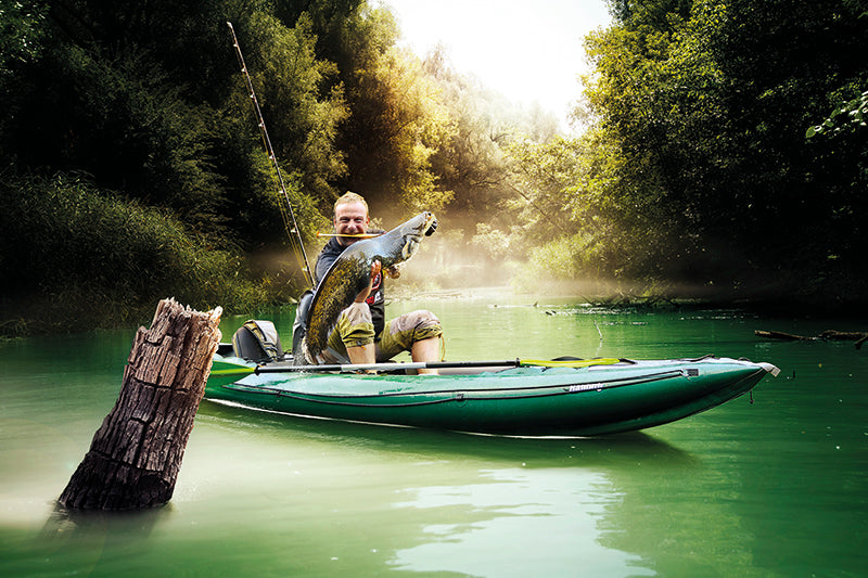 Kayak Fishing with An Inflatable Fishing Kayak