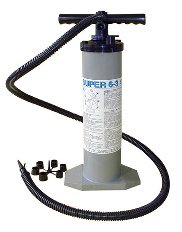Double/single-action hand pump SUPER 6/3