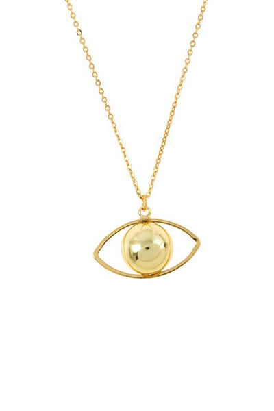 L & S EYE PENDANT NECKLACE - LS Moda
