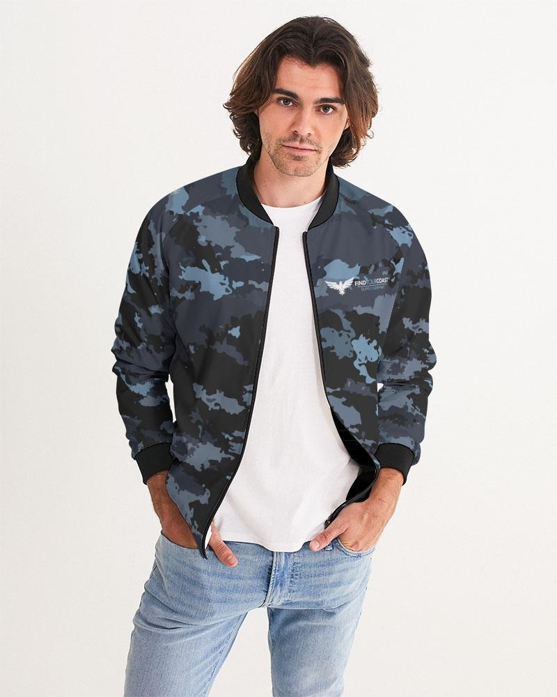 Men's Coast Camo Bomber Jacket