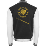 The Lion Head Sweat College Jacket