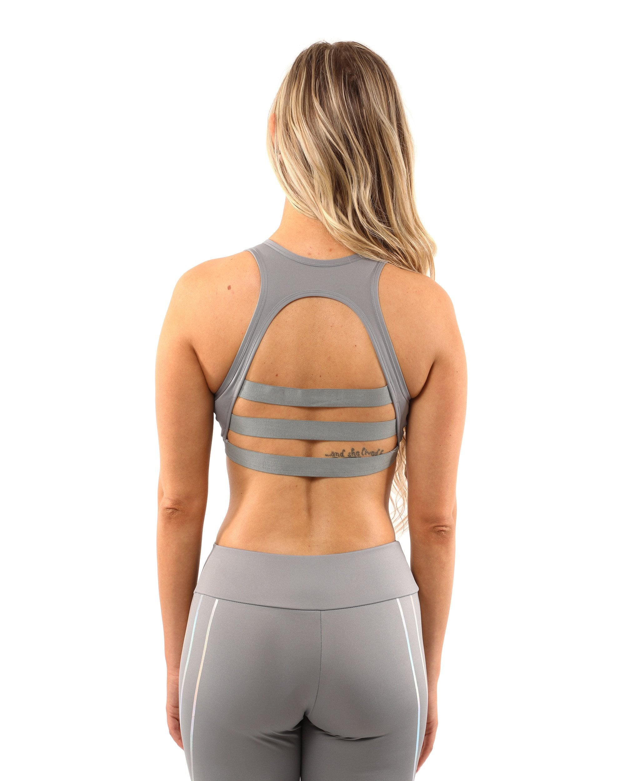 Laguna Set - Leggings & Sports Bra - Grey