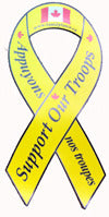Yellow Ribbon Sticker