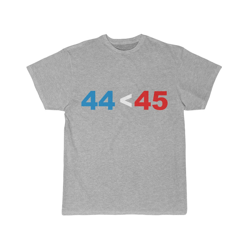 44 is Less than 45