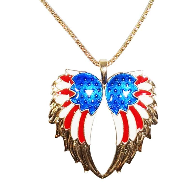 American Bald Eagle's Wings Necklace and Pendant