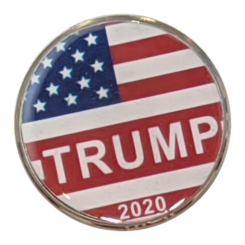 Set of 10 Trump Pins