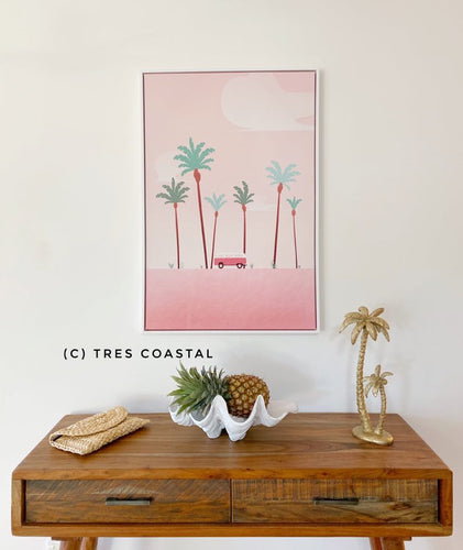Combi Pink Summer canvas Artwork