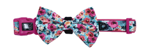 Collar w/Bow tie- FLORAL