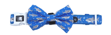 Load image into Gallery viewer, Collar w/Bow tie- GREAT WHITE