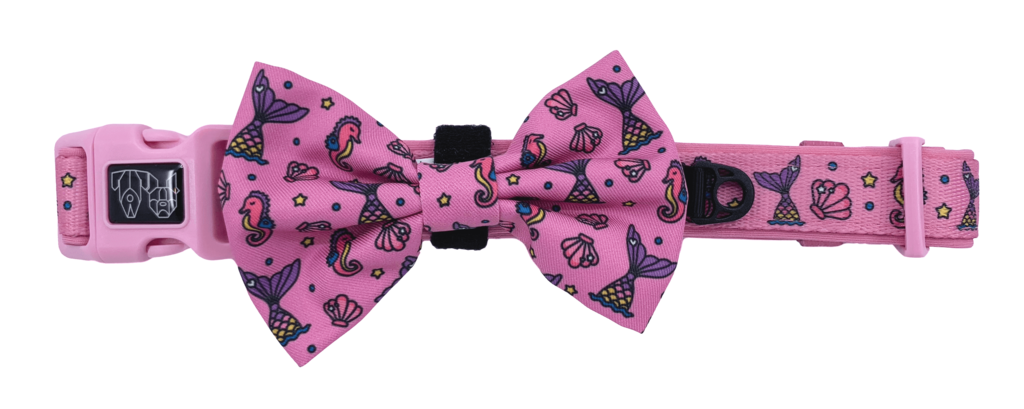 Collar w/Bow tie- SEALIFE