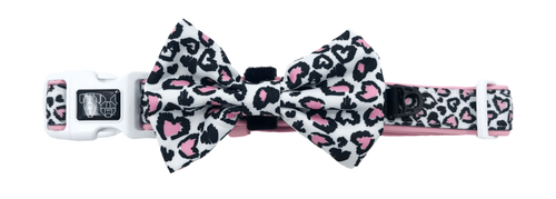 Collar w/Bow tie- WILD LOVE