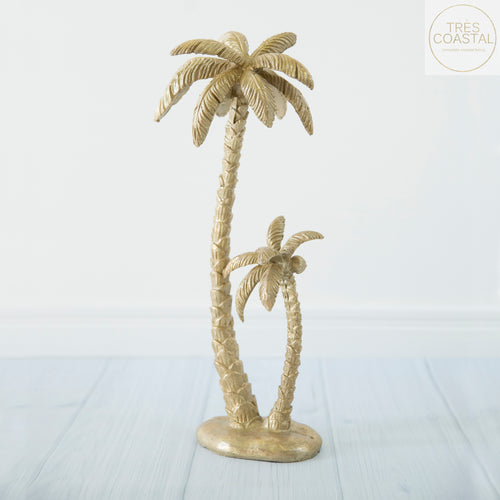 Gold Palm Statue
