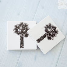 Load image into Gallery viewer, Palm sketch Coasters