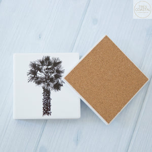Palm sketch Coasters