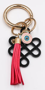 Lovers Knot Key Ring