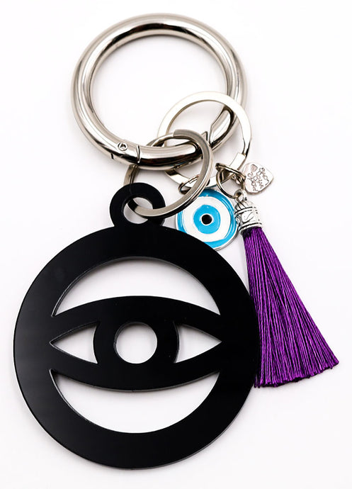 Evil Eye Key Ring