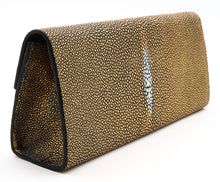 Load image into Gallery viewer, Roxbury Gold Stingray Clutch