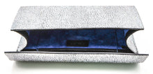 Load image into Gallery viewer, Silver Roxbury Clutch