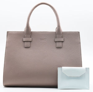 Beverly Bag - Blush with White Wallet