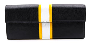 Roxbury Stripe Clutch