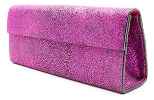Roxbury Pink Stingray Clutch