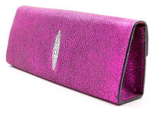 Load image into Gallery viewer, Roxbury Pink Stingray Clutch