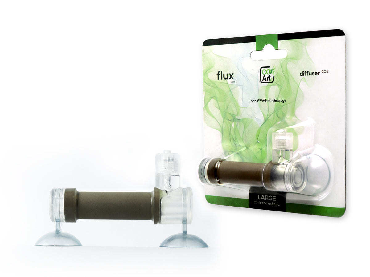 NEW In-Tank Bazooka Flux_ CO2 Diffuser for Planted Aquariums